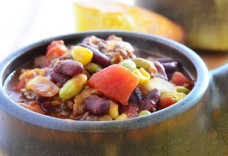 One-Pot Meal: Hearty Mole-Style Chili
