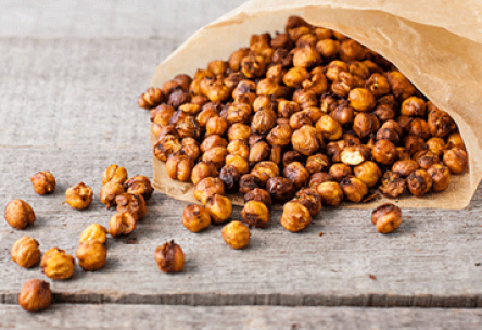 Pumpkin Roasted Chickpeas