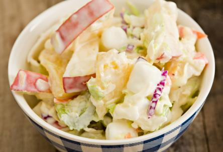 Photo: Cabbage-Pineapple Slaw