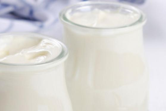 Photo: Two glasses of dairy