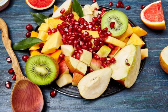 Gingered Winter Fruit Salad