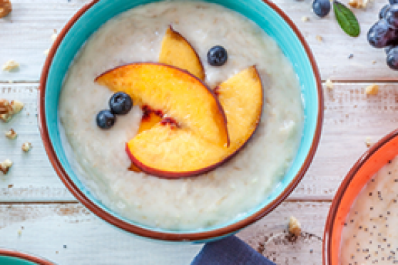 Fruit breakfast oatmeal