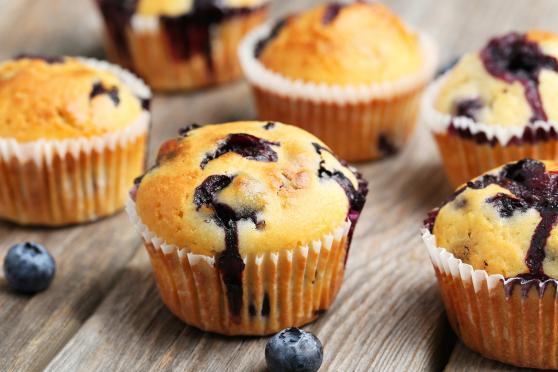 Photo: Blueberry Muffins.