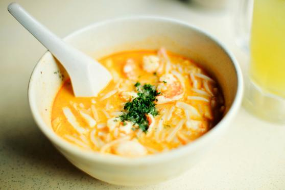 Photo: Coconut Curry Soup