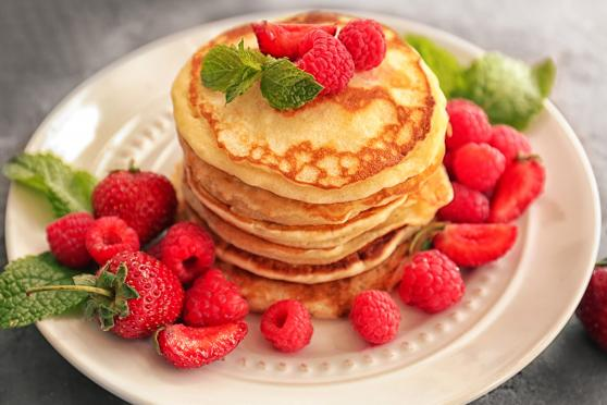 Photo: Cornmeal Pancakes.