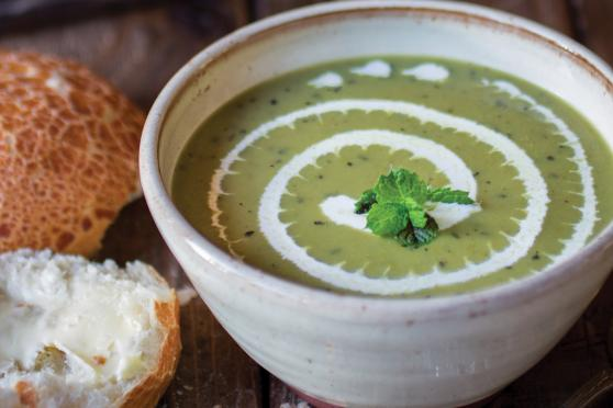 Photo: Bowl of Easy Pea-sy Soup.
