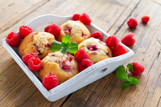 Lemon-Raspberry Muffins