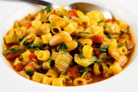 Photo: Italian Pasta and Bean Soup