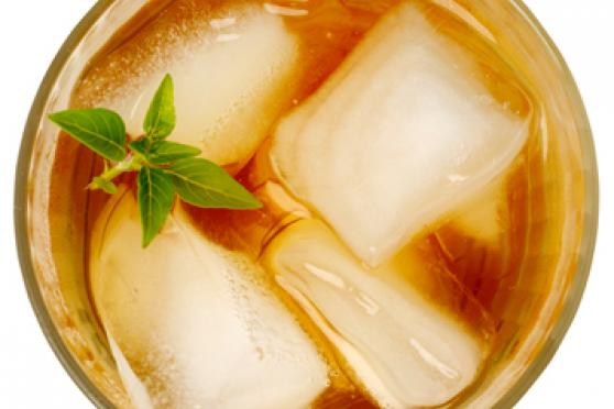 Lemon Basil Iced Tea