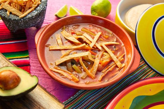 Photo: Light and Tangy Tortilla Soup