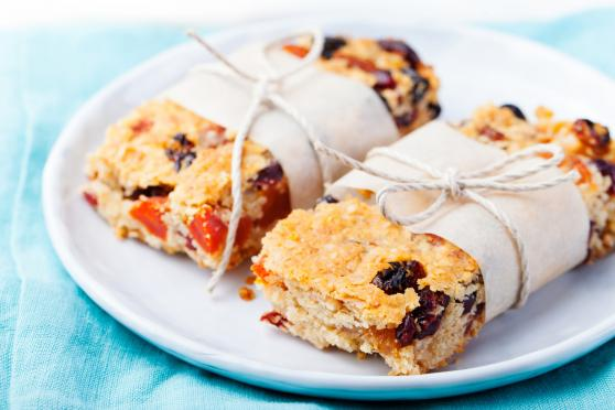 Photo: Oatmeal Energy Bars